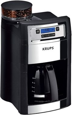 3 Oz Preto KRUPS F203 Electric Spice Moedor de Café com lâminas de aço inoxidável