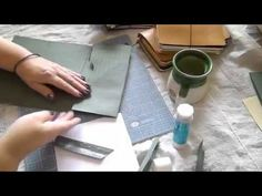 "A Pocketful of Vintage - Part 2 - 6 Pocket craft folder for your Midori"" (extra info) - YouTube"