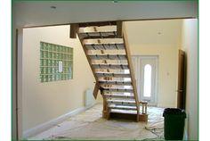 Warren Lane Glass Balcony Staircase (Under Construction)