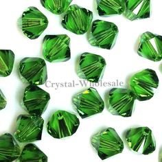 1440 pcs Swarovski crystal 5328 / 5301 3mm FERN GREEN (291) Genuine Loose Bicone Beads * Read more  at the image link.