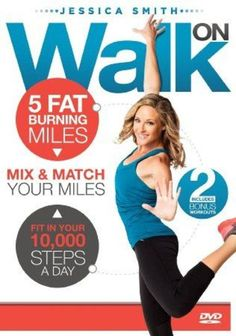 Need help reachingyour daily step goals? This workout DVD can help you do it - rain or shine - no matter how busy your life is!   Amazon.com : Walk On: 5 Fat Burning Miles Walking Exercise DVD : Sports & Outdoors