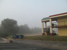 Wednesday there was a heavy fog over Stillwater