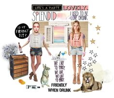 Live For Today  Plan For Tomorrow  Party Tonight!    Coco Go Nuts / Wild Friday Cropped Tee > http://on.fb.me/Q1CKv3