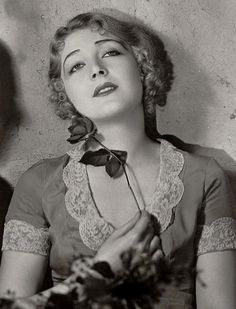 """Vilma Banky in 1929! Born Vilma Koncsies on 1/9/01 in Nagydorog, Tolna County, Austria-Hungary. Died on 3/18/91 from cardiopulmonary failure. An Actress from 1919 to 1933. She was hailed as """"The Hungarian Rhapsody"""" and was an immediate hit with American audiences. She was married only once!"""