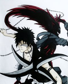 Hisagi and Kazeshini .. I feel that if the dark spear ever overwhelmed frankinstien that's what he would look like