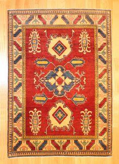 Kazak Tribal Rug TAN80022296 Pakistan