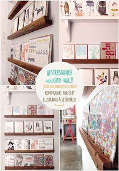 mini card-wall!!