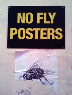 No Fly Posters, Manchester