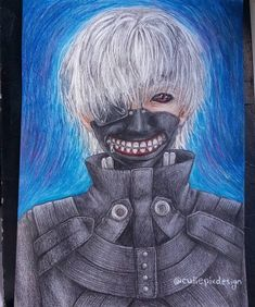 I failed 😭😭😭😭😭 The hair looks soooo shitty 😭😭😭 But I spend so much time on this drawing that I have to post it! Manga Drawing, Drawing Art, Manga Art, Art Drawings, Anime Art, Kaneki Ken Drawing, Kaneki Kun, Tokyo Ghoul Fan Art, Cosplay