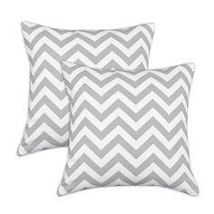 Chooty & Co Zig Zag Cotton Pillow