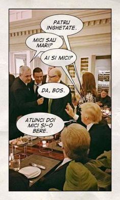 via Romanian SocDem leader takes photos with Trump at private dinner Meant To Be, Thats Not My, Place Cards, Place Card Holders, Pictures, Photos, Grimm