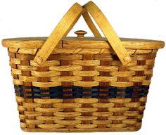 beautiful Amish basket