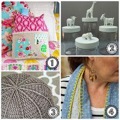 Weekend DIY Inspiratie Haken, Naaien en Verven  DIY Weekend Inspiration nr 3  Sewing, Crochet and Painting