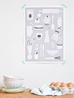 Keuken print - A3