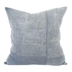 Hmong Textile Pillow P1614 - houseofcindy.com