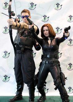Hawkeye & Black Widow from Emerald City Comicon (Photo by Kathy Ann Bugajsky)