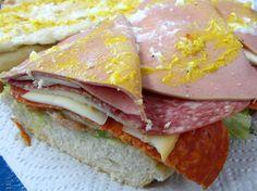 Polished off half of a Super Killer Sandwich.