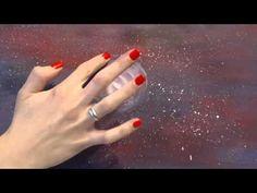 Онлайн-урок рисования гуашью для начинающих. Как нарисовать луну - YouTube