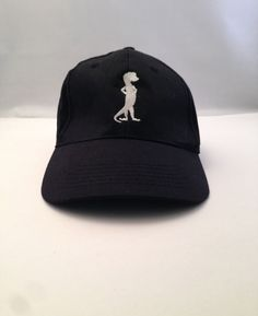 OTTO GEICO BASEBALL CAP HAT - BLACK One Size Fits Most Trucker Snap Back #Otto #BaseballCap