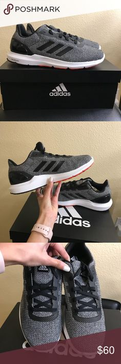 Adidas Shoes Brand new in box, never worn. Men's shoe size 8! Make an offer! Reasonable offers will be accepted. 😊 adidas Shoes Athletic Shoes