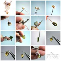 Erin Prais-Hintz has a great diy tutorial on Jewelry Making Daily!  Create a birds nest using Nunn Design Bead caps!