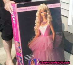My Size Barbie Think we still have this