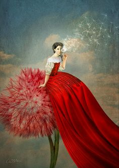 ⊰ Posing with Posies ⊱ paintings of women and flowers - Imagination - Catrin Welz-Stein