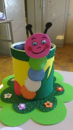 You can use any animal craft as Kids Crafts, Tin Can Crafts, Foam Crafts, Diy Arts And Crafts, Cute Crafts, Craft Stick Crafts, Creative Crafts, Preschool Crafts, Easter Crafts