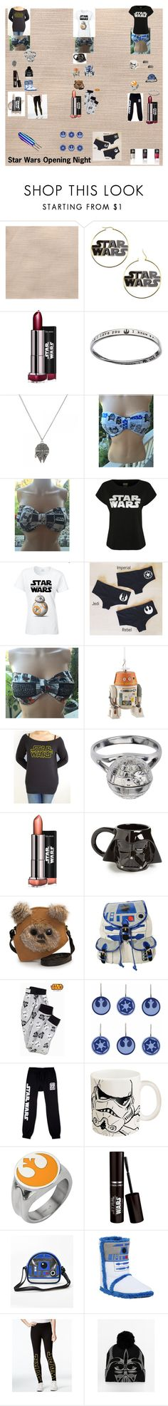 """""""Star Wars Opening Night"""" by pink0124 ❤ liked on Polyvore featuring George, Disney, Vandor, Loungefly, R2, JEM, Zak! Designs, Hybrid and ASOS"""