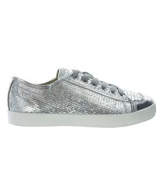 Take a look at this Feiyue Silver Dragon Scale Felo II Sneaker - Women today!