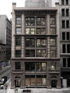 like this image because of the constant of the floors of the apt but how you can use the windows and floors to create different scenes and layers and sections of things happening within one solid structure...