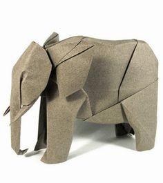 Gli origami iper-realistici di Nguyễn Hùng Cường