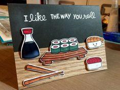 gutschein basteln gemeinsames essen sushi #gifts #ideas #bastelideen