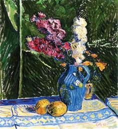 Still Life with Lemons Cuno Amiet - 1910