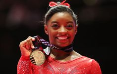 Olympian Simone Biles Dishes on How She's Training, Eating, and Mentally Prepping Before Rio