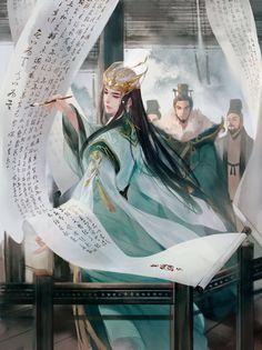 微博 Fantasy Art Men, My Fantasy World, Beautiful Fantasy Art, Fantasy Artwork, Illustrations, Illustration Art, Character Art, Character Design, China Art