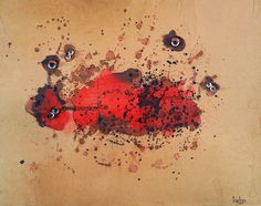 Obra de la artista italiana Carol Rama en el MACBA | www.stylefeelfree.com