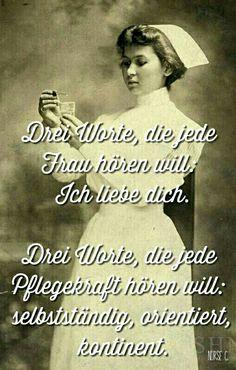 Die Wahrheit! #Krankenschwester ❤