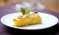 Experimente aus meiner Küche: Möhren-Kokos-Kuchen mit Karamellhaube