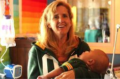 """Salchert with Charlie. One mom (who has 8 biological children) changing the lives of many, by adopting """"hospice babies"""" who are not expected to live very long at all, so that they can live a short, but full life surrounded by love."""