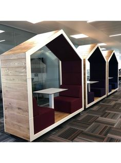 Treehouse Open Office Pods You are in the right place about work officce decora. - Treehouse Open Office Pods You are in the right place about work officce decorating ideas Here w - Feng Shui, Office Pods, Decoration Ikea, Office Seating, Open Office, Co Working, Cafe Interior, Hobby Lobby, Office Interiors