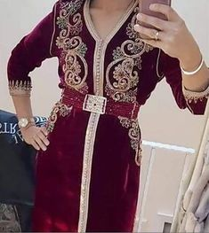 Moroccan Caftan, High Fashion, Womens Fashion, Elegant Outfit, Party Wear, Kaftans, Model, How To Wear, Outfits