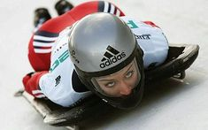 """Girl power: If money were no object this Christmas, Amy Williams, British bob skeleton athlete, says """"I would arrange for a skeleton, bobsleigh and luge track to be built in the countryside around Bath. Luge, Athletic Models, Athletic Women, Women Athletes, Female Athletes, Sport Man, Sport Girl, Skeleton Bob, Bobsleigh"""