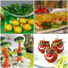 aperitive Healthy Dishes, Canapes, Party Planning, Great Recipes, Sushi, Watermelon, Easy Meals, Food And Drink, Appetizers