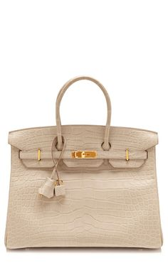 Can you believe this purse is $115,000.00?! This is obscene! Matte Beton Alligator Hermes Birkin by Heritage Auctions Special Collections
