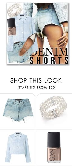"""""""Daisy Dukes"""" by kristennevanss on Polyvore featuring T By Alexander Wang, Bloomingdale's, Thakoon, NARS Cosmetics and Sigerson Morrison"""