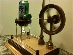 Walking Beam Stirling Engine by Jim Larsen