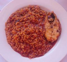 Delicioso Arroz Caldero de la Región de Murcia.