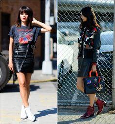 Semanas de Moda – Street Sytle de NY: estilo rocker