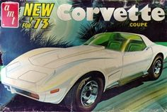 AMT 73 Corvette box art